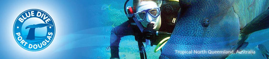 Blue Dive scuba diver